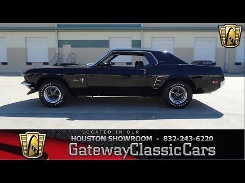 1969 Ford Mustang Grande - Houston Showroom - Stock # 353