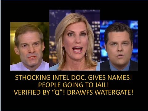 Shocking Intel Document Gives Names! People Going To Jail! Dwarfs Watergate!! Verified By Q Anon!