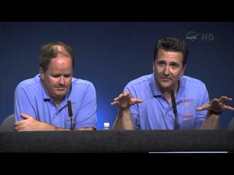 Mars Science Laboratory Curiosity Rover Post Landing News Conference
