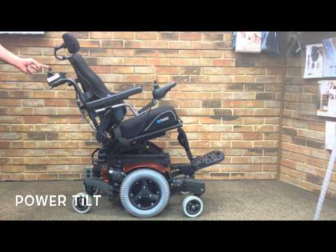 Quickie QM-710 Power Tilt Rehab Power Chair