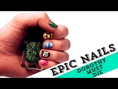 Nail art tutorial inspired by the wicked will rise nail art tutorial inspired by the wicked will rise epicreadsnailart prinsesfo Choice Image