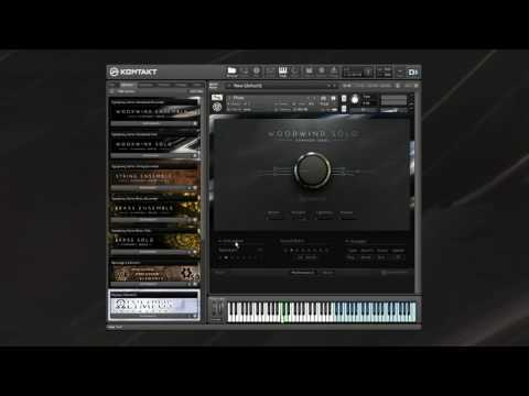 SYMPHONY SERIES - WOODWIND User Interface and Mic Positions
