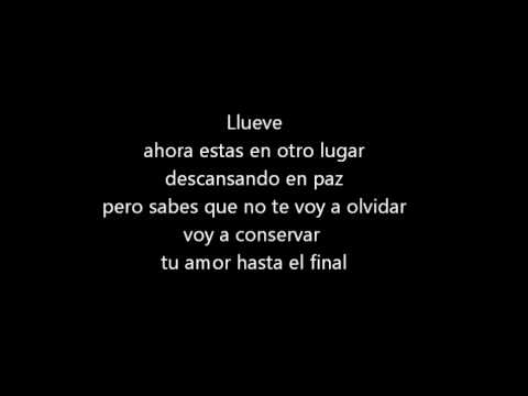 Llueve - lorna (lyrics)