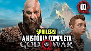 EXPLICANDO TODA A HISTÓRIA DE GOD OF WAR COM SPOILERS - PARTE 1/2