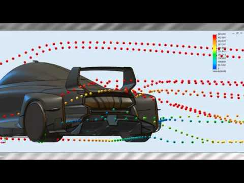 Estudio aerodinámico SolidWorks Flow Simulation