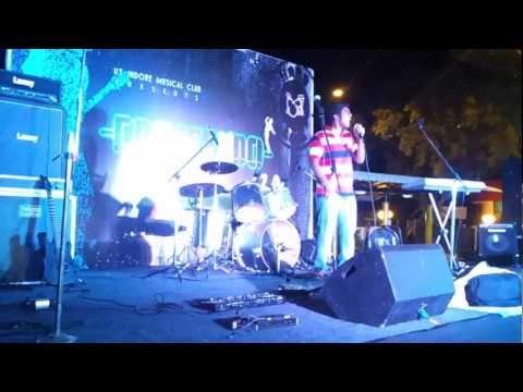 Crescendo 2.0 - Abhinav singing Sang hoon tere
