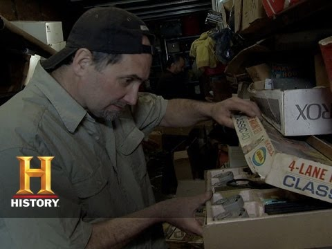 American Pickers: An Impressive Slot Car Collection