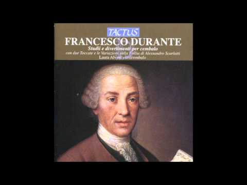 F.Durante Harpsichord Works, A.Scarlatti Toccatas and Variations