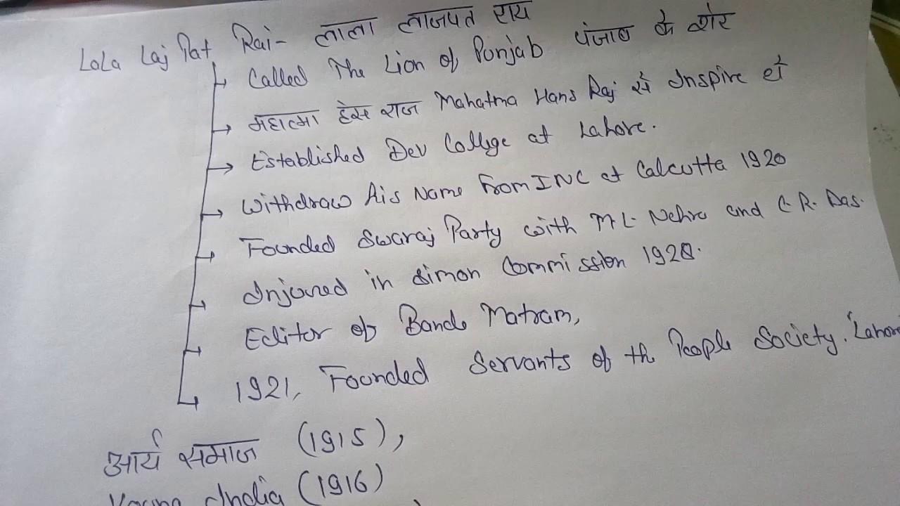 History notes in hindi