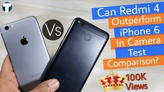 Xiaomi Redmi 4 Vs iPhone 6 Camera Test Comparison