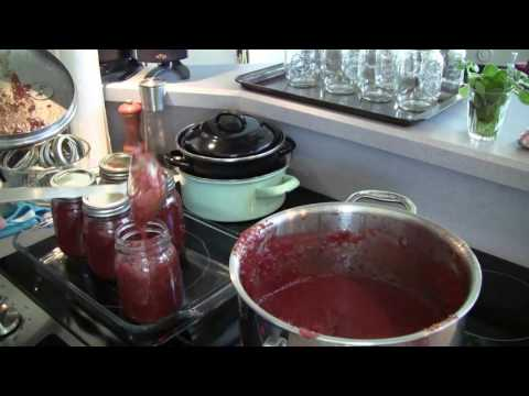 Jarring Crab Apple Butter -- ASMR -- Male, Soft-Spoken, Cooking Sounds, Sizzling, Tapping, Glass