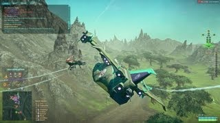 Planetside 2 - Galaxy Gameplay - Shock Troopers