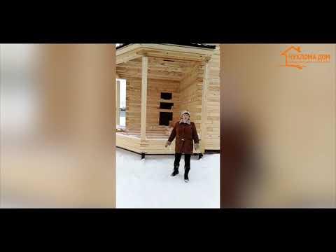 """Дома из бруса из Костромы. Отзыв заказчика. СК """"Чухлома Дом"""""""