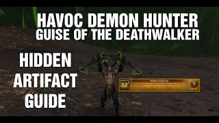 HAVOC DEMON HUNTER - Hidden Artifact skin Guise of the DEATHWALKER