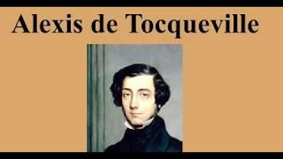 DÜŞÜNCE TARİHİ ( Alexis de Tocqueville Hayatı , Eserleri ve Görüşleri