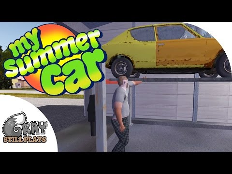 HOW SATAN GETS HIS CAR REGISTERED + What Color To Paint It - My Summer Car Gameplay Highlights Ep 11