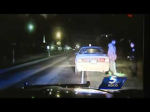 Watch: Dash camera video shows interaction between slain Tecumseh officer, suspect