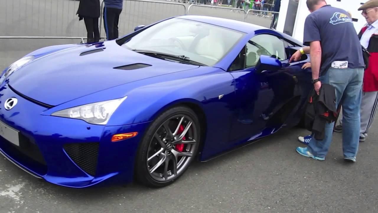 the supercar event 2015 lexus lfa and the lexus rc-f - youtube