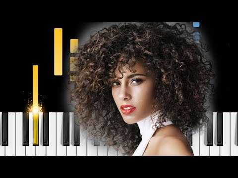 Alicia Keys - If I Ain't Got You - Piano Tutorial / Piano Cover