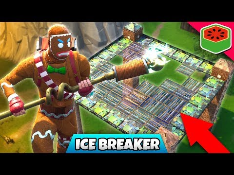 ICE BREAKER - AWESOME CUSTOM GAME! | Fortnite Battle Royale