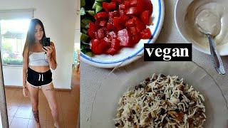 מה אני אוכלת ביום טבעוני בבית!