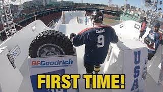 Download Hockey Players try Red Bull Crashed Ice Track for the first time WITHOUT Practice! Mp3 and Videos