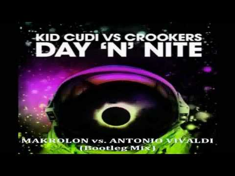 Kid Cudi Vs. Crookers - Day 'n' Night  2010 Version NEW!!!