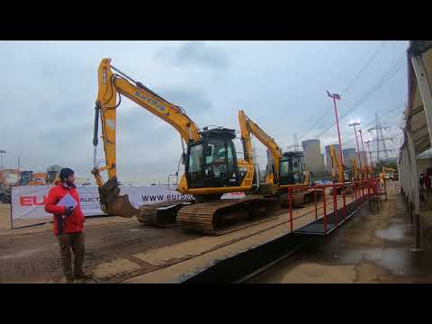 Swamp Excavators For Sale At Euro Auctions Leeds Low Ground Pressure Digger