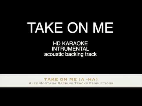 TAKE ON ME (A-HA) - HD KARAOKE