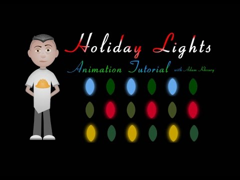 Holiday Christmas Lights Animation Tutorial CSS JavaScript - Holiday Christmas Lights Animation Tutorial CSS JavaScript - YouTube
