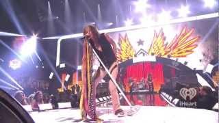Aerosmith Mother Popcorn - Walk this Way Live iHeartRadio Music Festival 2012 1080p
