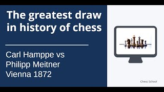 The greatest draw in history of chess!