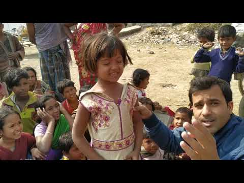 Talent की खोज in Slum Area# Clothes Distribution Event by AAS Foundation # Vidhu Mishra