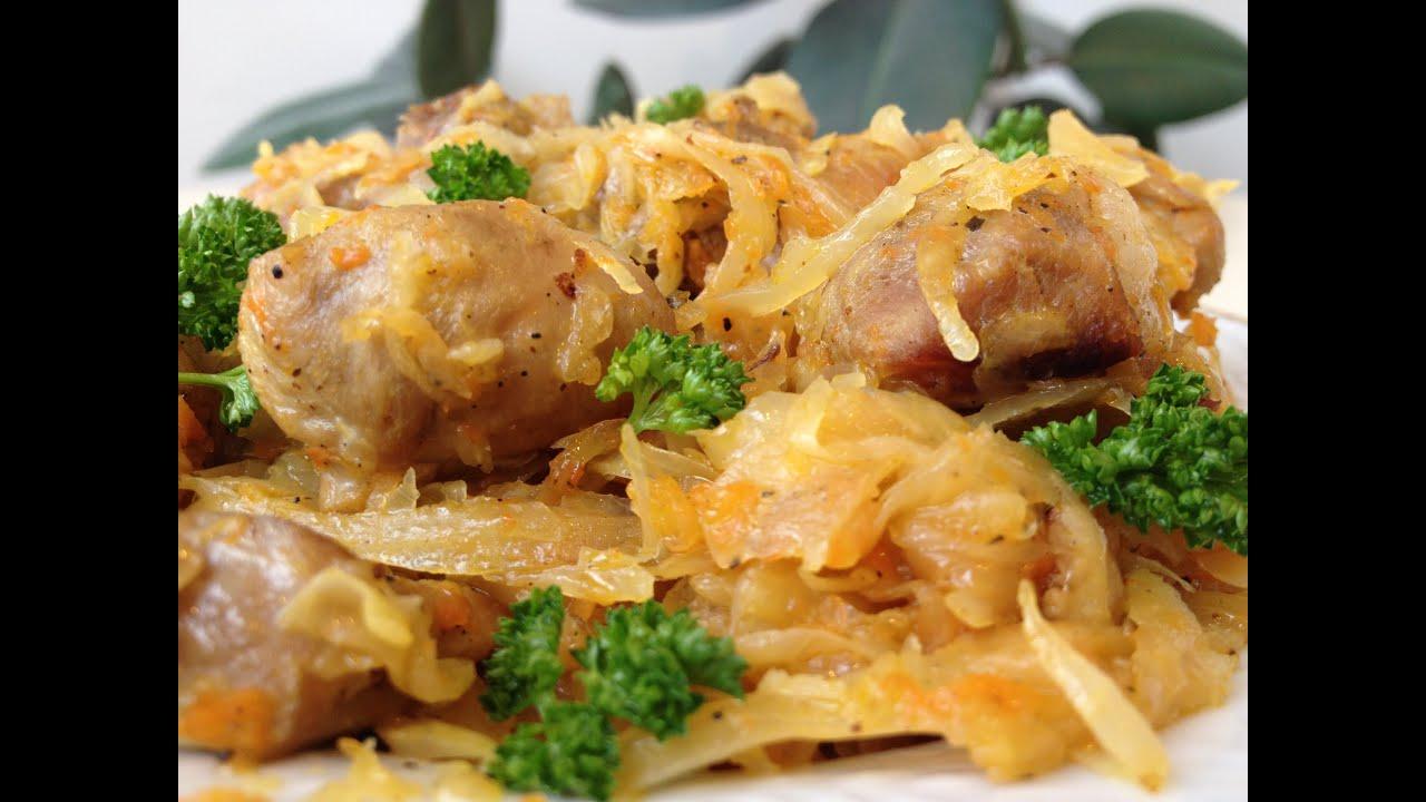 Тушеная Капуста с Мясом (Бигус) - Это Вкусно!!!   Cabbage with Meat