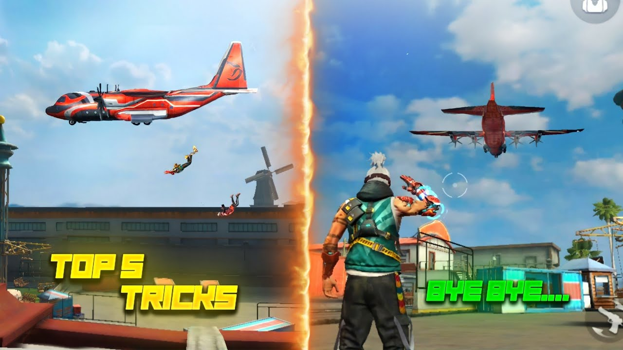 Top 5 New Tricks in free fire || tricks and tips for free fire #36