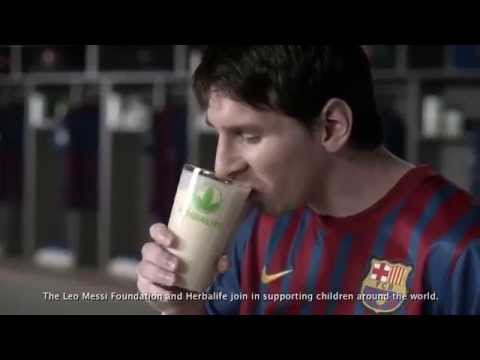 Leo Messi redefines basketball with Herbalife (Sport Energy Fitness)