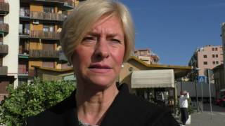 Roberta Pinotti a Pietra Ligure per #bastaunsì