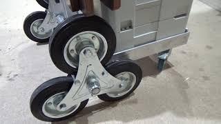 Тележка с тройными колесами обзор и тест
