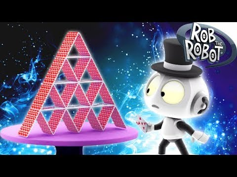 THE MYSTERIES OF MAGIC | Cartoons For Children | Rob The Robot Cartoon Show | Animated Show For Kids