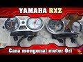Cara Mengenal Meter Motor Yamaha RXZ Yang Original Atau Palsu