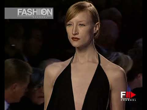 16562c62141 YVES SAINT LAURENT Spring Summer 2000 Paris - Fashion Channel - YouTube
