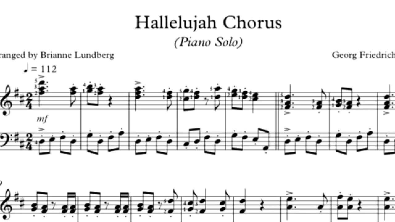 hallelujah chorus The hallelujah chorus: three versions of same song vie to be christmas number one it was a cult anthem until alexandra burke turned it into an x factor blockbuster - horrifying purists and.