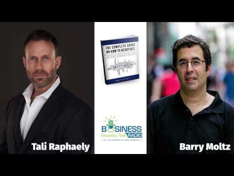 Tali Raphaely Channel | Interviewed by Barry Moltz | How to Negotiaite