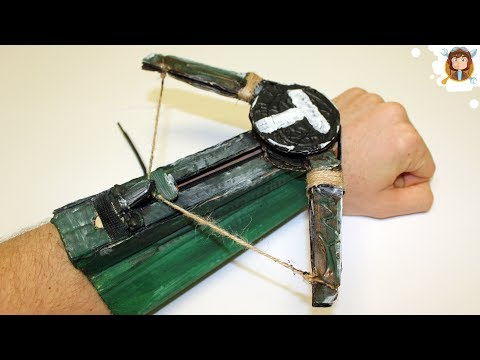 how to make a mini crossbow mini armbrust selber bauen doovi. Black Bedroom Furniture Sets. Home Design Ideas