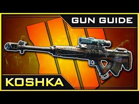 Koshka Stats & Best Class Setups! | Black Ops 4 Gun Guide #20