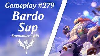 LOL Gameplay - Bardo Suporte #43 Pré S8 - Comentado Facecam | 4K 60fps