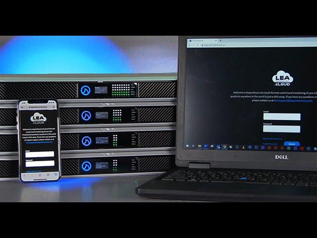 Professional Amplifier Cloud Platform: leaprofessional.cloud Overview