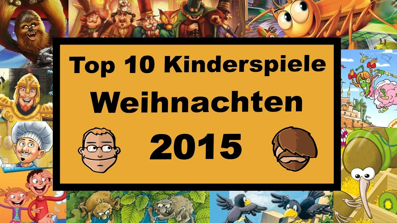 top 10 kinderspiele f r weihnachten 2015 geschenktipps youtube. Black Bedroom Furniture Sets. Home Design Ideas