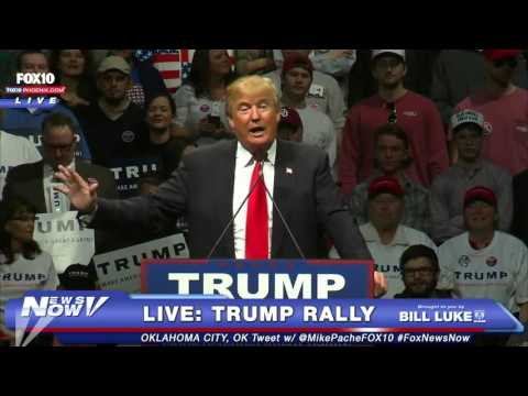 FULL: Donald Trump LIVE Rally Oklahoma City - 2/26/16