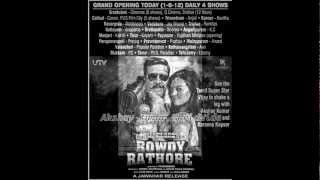 Ra Ra Rowdy Rathore RingTone
